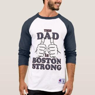 T-shirt Ce papa est BOSTON FORT