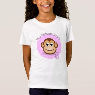 T-Shirt Ce petit singe est 6