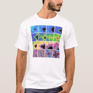 T-shirt Ce qui circule, vient autour-- version bleue