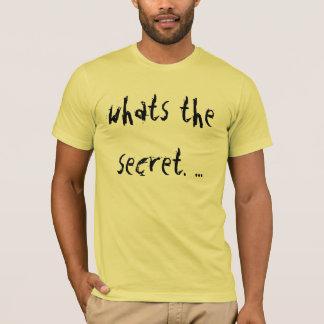 T-shirt Ce qui est caché