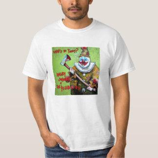 """T-shirt """"Ce qui est si drôle ?"""" Pièce en t"""
