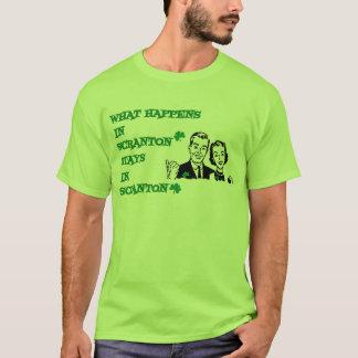 T-shirt Ce qui se produit dans des chemises irlandaises de