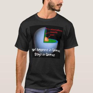 T-shirt Ce qui se produit dans des séjours d'Uranus dans
