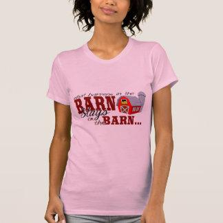T-shirt Ce qui se produit dans la grange…