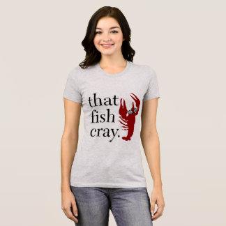 T-shirt Ce T des femmes de Cray de poissons