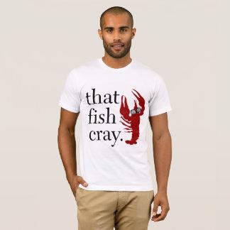 T-shirt Ce T des hommes de Cray de poissons