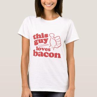 T-shirt Ce type aime le lard