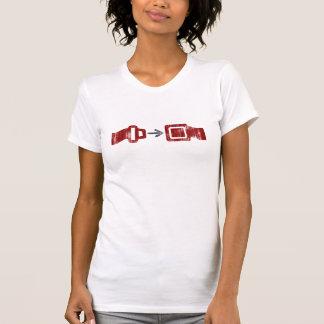 T-shirt Ceinture de sécurité d'asphalte
