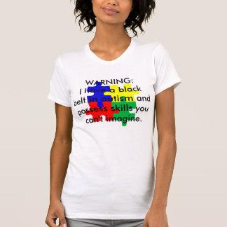 T-shirt Ceinture noire dans l'autisme