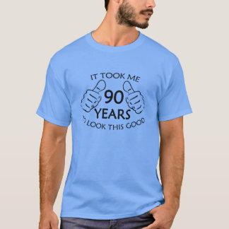 T-shirt Cela m'a pris 90 ans pour regarder cette chemise
