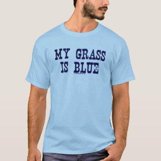 T-shirt Célèbre mon herbe est bleue
