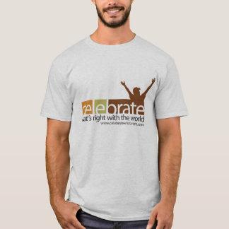 T-shirt Célébrez ce qui est tee - shirt droit