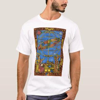 T-shirt Céleste vintage, astronome Claudius Ptolémée