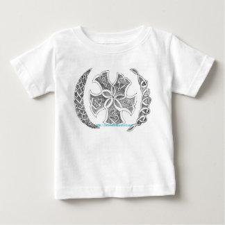 T-shirt celtique en croissant de noeud