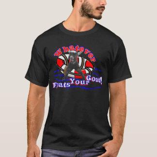 T-shirt Celui qui flotte votre chèvre