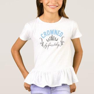 T-shirt Cendrillon | couronné par l'amitié
