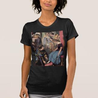 T-shirt Cendrillon vintage adaptant la pantoufle en verre