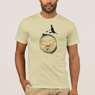 T-shirt Central du GLISSEMENT de COUP HG-CIRCLE 006 Ponto