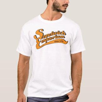 T-shirt centre commercial de sandwich