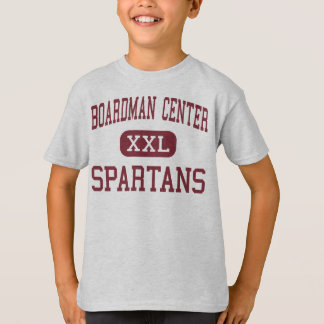 T-shirt Centre de Boardman - Spartans - milieu -