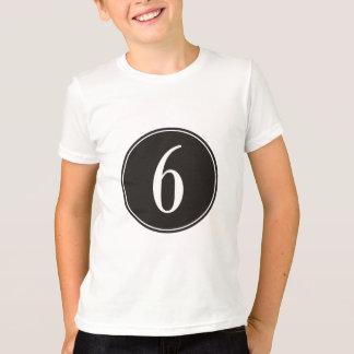 T-shirt Cercle #6 noir