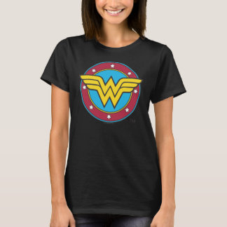 T-shirt Cercle de la femme de merveille | et logo