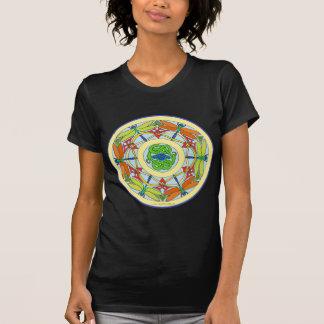 T-shirt cercle de libellule