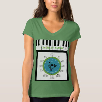 T-shirt Cercle des cinquièmes