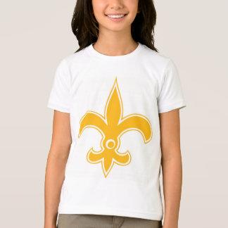 T-shirt Cercle d'or de fleur de lis de SAINTS