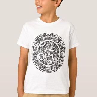 T-shirt Cercle maya, hiéroglyphe mexicain (Maya)
