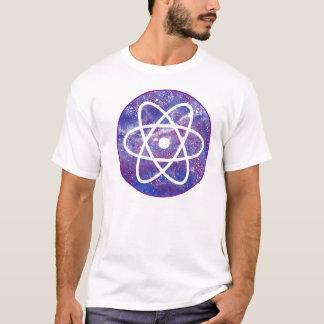 T-shirt Cercle pourpre d'atome