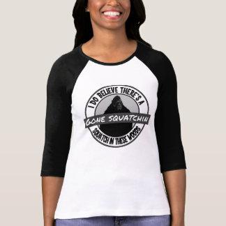 T-shirt Cercle - Squatchin allé - Squatch en ces bois