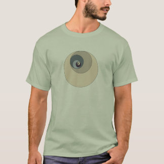T-shirt Cercles d'or de rapport