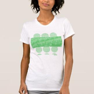 T-shirt Cercles et effet de conception de boîte