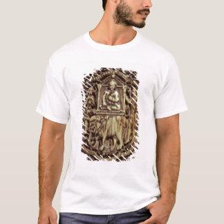 T-shirt Cercueil, coordonnée de l'homme étant continué