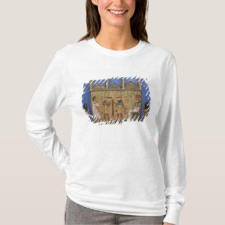 T-shirt Cercueil d'Ushabti avec une scène de psychostasis