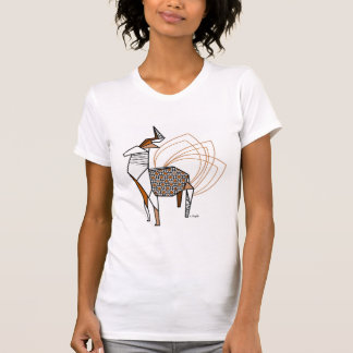 T-shirt Cerf origami