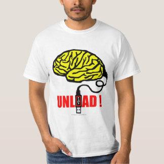 T-shirt cerveau à décharger