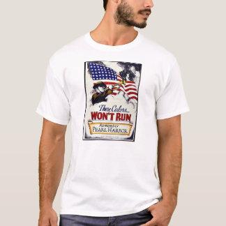 T-shirt Ces couleurs, ne fonctionneront pas, Pearl Harbor