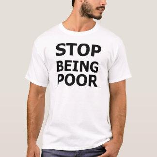 T-shirt Cessez d'être pauvre