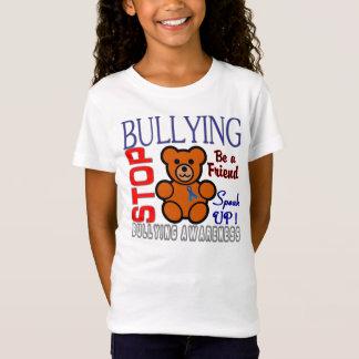 T-Shirt Cessez d'intimider le logo de conscience