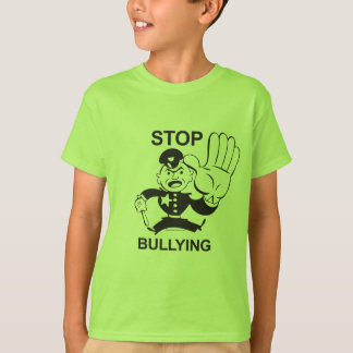 T-shirt Cessez d'intimider le tee - shirt