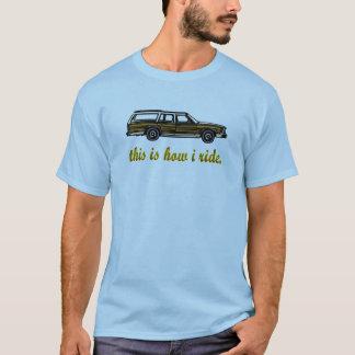 T-shirt C'est comment je monte