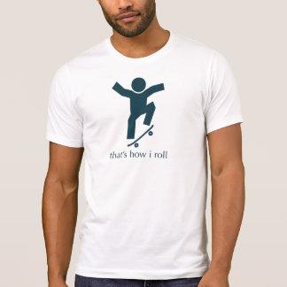 T-shirt c'est comment je roule