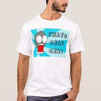 T-shirt C'EST CRAY CRAY-bleu