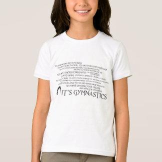 T-shirt C'est gymnastique