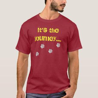 T-shirt C'est le voyage… pas la destination