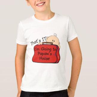 T-shirt C'est lui papaye