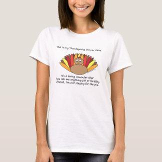 T-shirt C'est ma chemise de dîner de thanksgiving