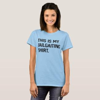 T-shirt C'est ma chemise de non-respect des distances de